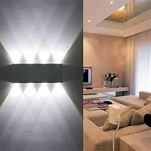 Leuchten Für Schlafzimmer : wandleuchte led innen phoewon 8w modern led licht ~ Lizthompson.info Haus und Dekorationen