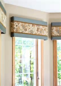 No Sew Cornice Window Treatments