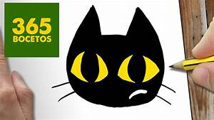 COMO DIBUJAR GATO KAWAII PASO A PASO Dibujos kawaii faciles How to draw a CAT YouTube
