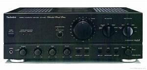 Technics Su-vx800 - Manual - Stereo Integrated Amplifier