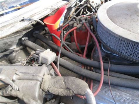 purchase   chevy caprice coupe hardtop  engine