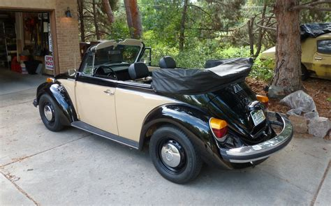 bf exclusive electric  vw beetle convertible