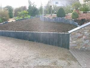 Bordure Beton Jardin : poser des bordures de jardin en beton conceptions de la ~ Premium-room.com Idées de Décoration
