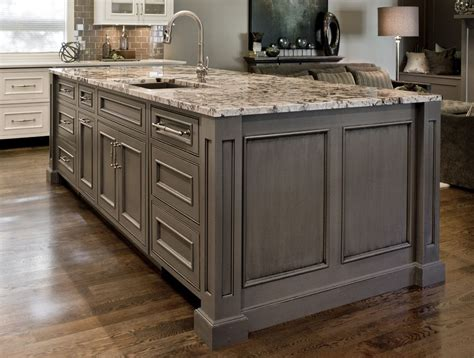 kitchen island made from doors inset doors with beaded frame openings gray painted 9410