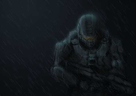 Master Chief Home Again By Tacosaurusrex On Deviantart