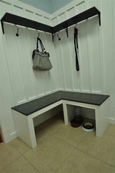 corner mudroom bench 50 best backpack hooks images on mud rooms 2616