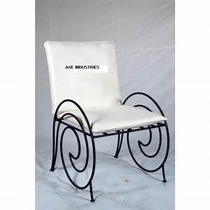 Fauteuil Fer Forgé : fauteuil fer forg spirale fauteuils en fer forg axe industries ~ Teatrodelosmanantiales.com Idées de Décoration