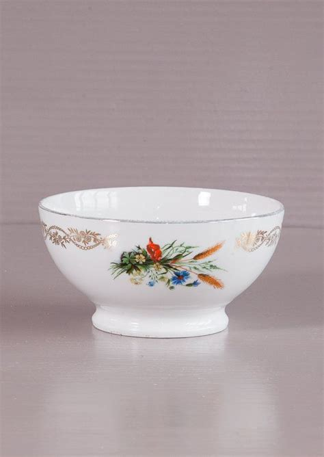 It extracts a very strong and robust cup of when it comes to french press coffee, the hardest part is getting started. Vintage French Cafe au lait bowl  Floral decor, silver rim   French Coffee Bowl…   Café au lait