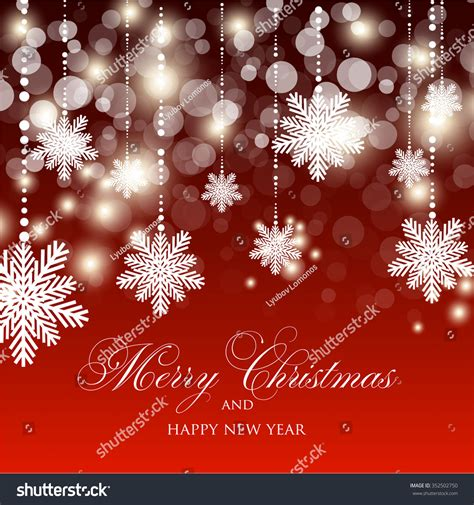 40,000+ vectors, stock photos & psd files. Christmas Glowing Lights. Merry Christmas And Happy New ...