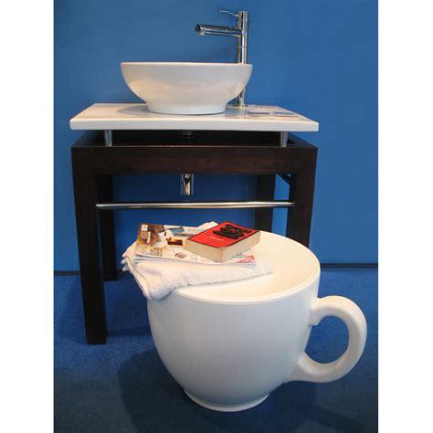 tea cup stool homeware furniture  gifts mocha