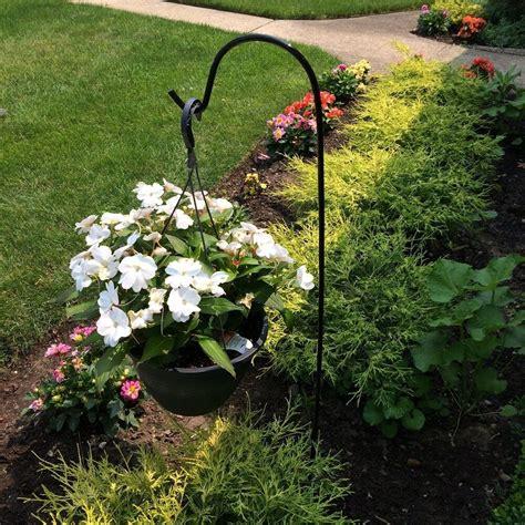 Garden Hook by Shepherd Hook Garden Steel Hanging Plant Basket Hanger