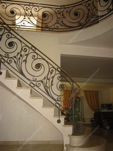 Rampes D'escalier En Fer Forgé Classique  Modèle Louis