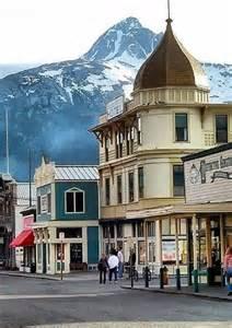 Alaska Skagway Gold Rush Town