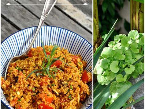 salicorne cuisine recettes de salade de semoule