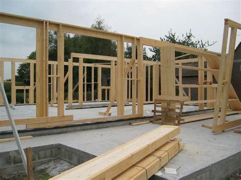 table de montage ossature bois construction maison ossature bois principe et montage boismaison