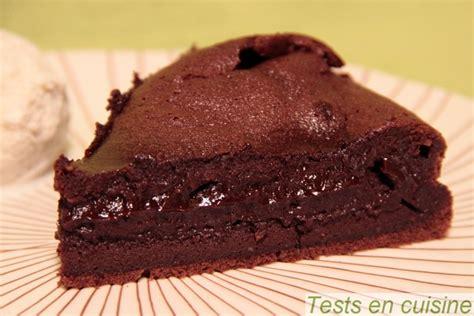 tablette recette cuisine fondant au chocolat corsé nestlé dessert tests en cuisine