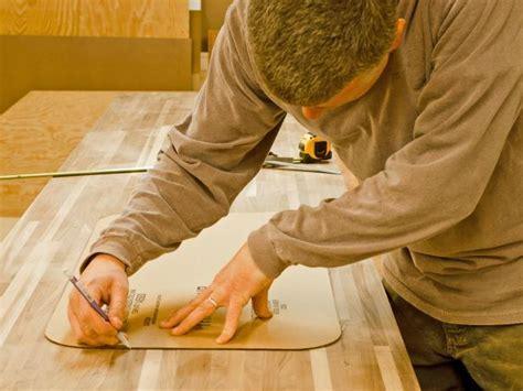 Do It Yourself Butcher Block Kitchen Countertop   HGTV