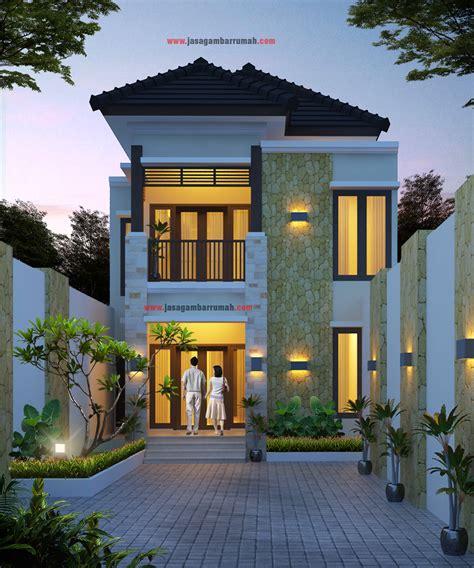 layanan  jasa gambar rumah desain rumah konsep bali