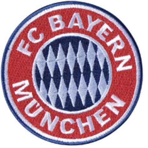 Aufnäher FC Bayern München Emblem - 8 x 8 cm - Bundesliga ...
