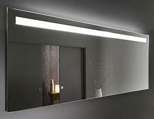 Grand Miroir Led Prallel Pour Meubles De Salle De Bain