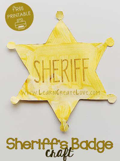 police badge craft for preschool homeschool step by step preschool theme west 714