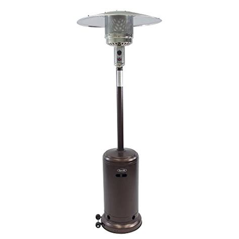 sense deluxe patio heater sense infrared indoor outdoor heater with pole mount
