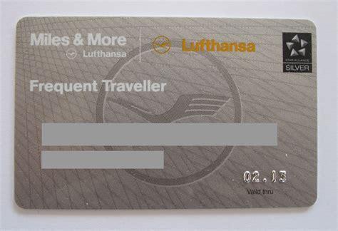lufthansa card abrechnung lufthansa miles