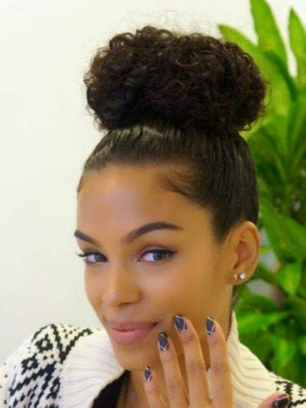 hair up styles bun 15 best updos for curly hair 4646