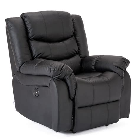 Automatic Recliner Chairs by Seattle Electric Leather Auto Recliner Armchair Sofa Home