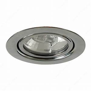 W halogen recessed or surface mounted richelieu hardware