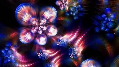 Fractal Highlights Colors Background