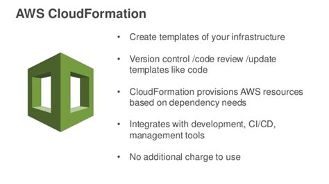 aws cloudformation templates infrastructure continuous delivery using aws cloudformation