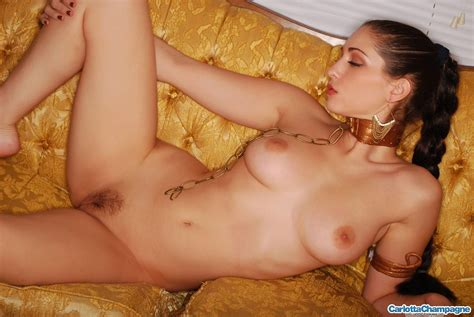 Pictures Of Carlotta Champagne Dressed As Slave Leia