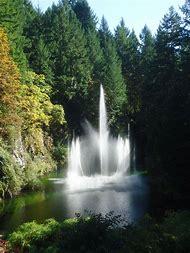 Butchart Gardens Ross Fountain