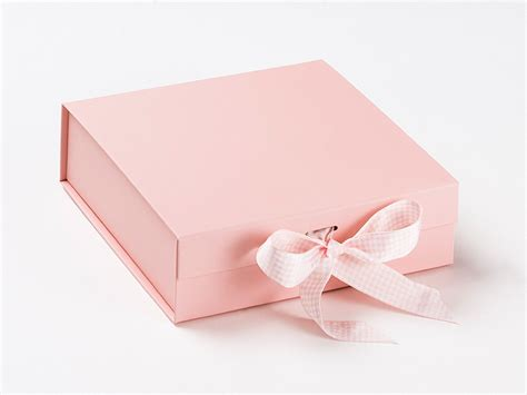 pale pink gift packaging boxes keepsake gift boxes baby boxes foldabox uk and europe