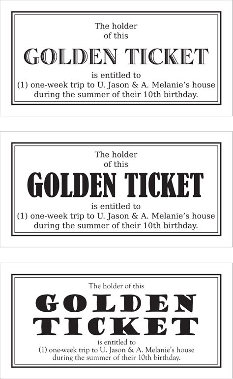 wonka golden ticket template word templates data
