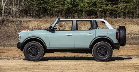 ford bronco  edition  sold   torque report