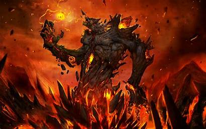 Demon Fire Dark Horror Wallpapers Desktop Backgrounds