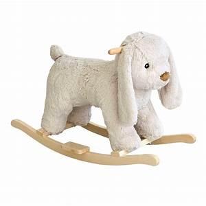 Mouton à Bascule : lapin bascule enfant h 47 cm mathurin maisons du monde ~ Teatrodelosmanantiales.com Idées de Décoration