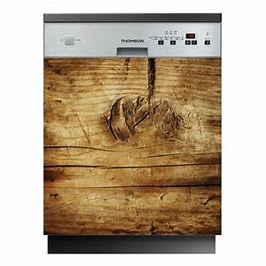 Lave Vaisselle Moins Cher : stickers lave vaisselle bois pas cher ~ Premium-room.com Idées de Décoration