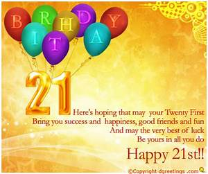 HAPPY 21ST BIRTHDAY QUOTES FOR FRIENDS image quotes at ...