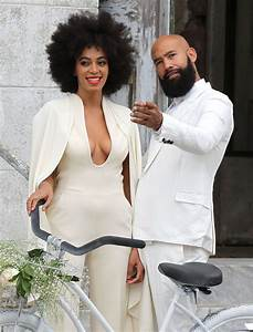 solange knowles wedding gown cape and beyonces maid of With solange knowles wedding dress