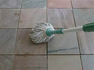 how to clean slate floors With what do you mop tile floors with