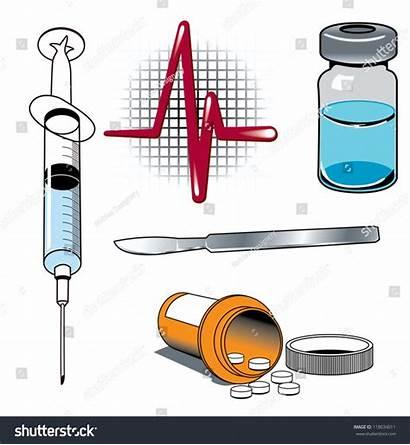 Tools Medicine Illustrations Medical Various Vector Shutterstock