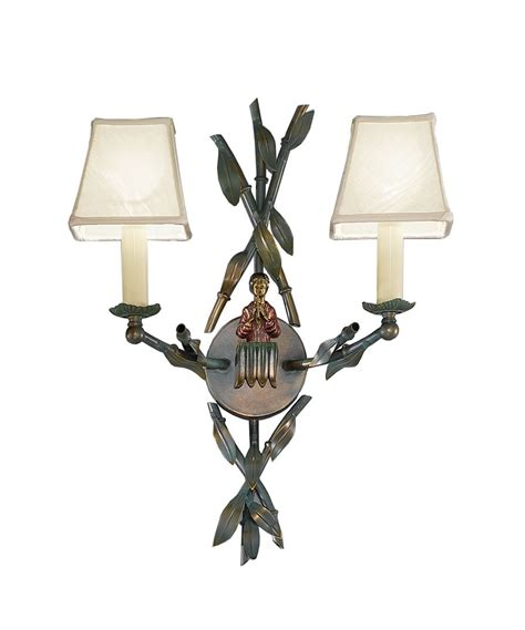 bamboo wall light traditional wall ceiling