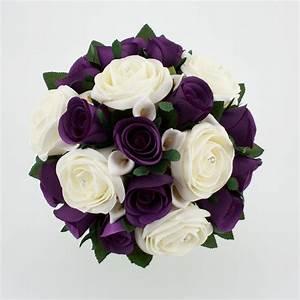 Wedding Bouquet Purple Silver (Source: cl-floraldesigns.co ...