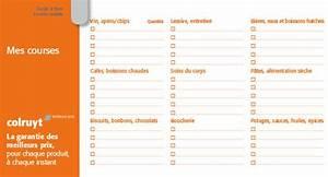 Listes De Courses : pr parer vos courses colruyt ~ Nature-et-papiers.com Idées de Décoration