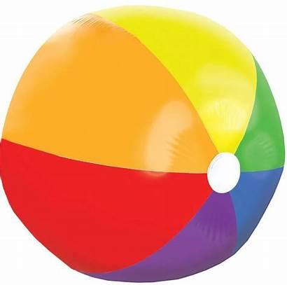 Ball Beach Giant Rainbow Party Trivia Icon