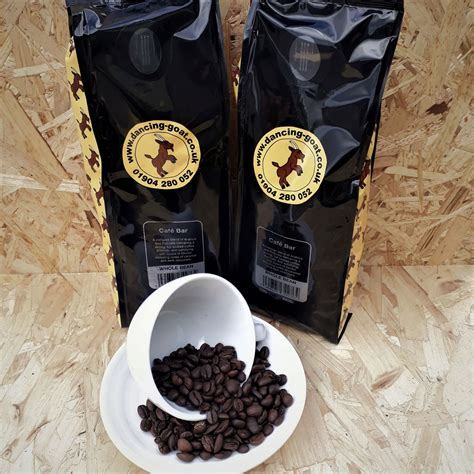 Always enjoy stopping at the dancing goat. For Home - Cafe Bar Whole Bean Blend 1kg - Dancing Goat Coffee