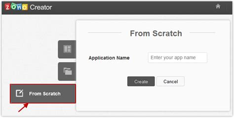 Application Creator by Create Application From Scratch
